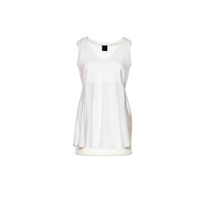 Hemdchen für Schwangere, 100% weiße Bio-Bambus-Viskose, fair and local produziert in Berlin.